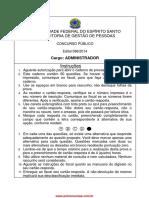 2 - Prova Edital 96-2014 Administração
