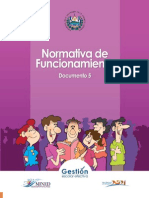 Normativa de FuncionamientD 5