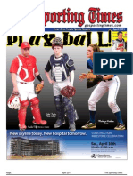 Sporting Times Region 3 April 2011