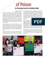 Survivors of Pesticide Poisoning - Say No to Methyl Iodide