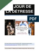 Livre LE JOUR DE LA DETRESSE 06 AOUT 2021