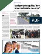 Conflicto Qom - Primera entrevista a Félix Díaz