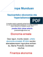 (2021) Europa Munduan. Nazioarteko ekonomia eta 'Inperialismoa'