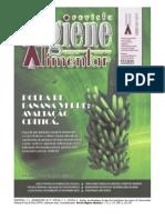 Revista Higiene Alimentar - Água de Bebedouros