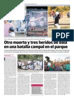 Parque Indoamericano - Primera Crónica