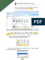 Programando No Microsoft Office Access 2007
