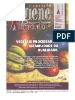 Revista Higiene Alimentar - Coliformes em Água de Cozinhas