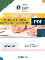 Ejemplo de Textualización.