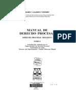 Manual de Derecho Procesal (Derecho Procesal Orgánico)- Casarino Viterbo, Mario