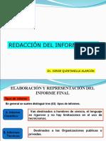 PRESENTACIÓN DE INFORME FINAL 8 21