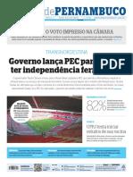 PE Diário de Pernambuco 10 08 2021 - TER