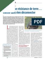 Resistance terre
