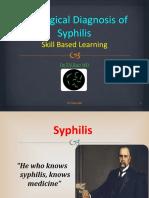 Serological Diagnosis of Syphilis