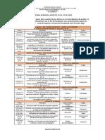 27. Agenda Semanal Agosto 23 Al 27 de 2021