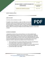EC-019 Comunicado de Espiritualidad 02-2020 - Comunicado Sobre El Santo Rosario en Comunidad (1)