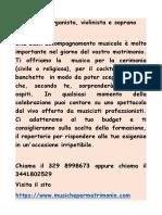 Organista Reggio Emilia