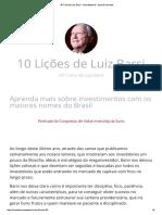 49ª Carta de Luiz Barsi – Suno Research – Area de Membros
