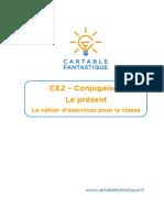 CE2 - Le Cahier d'Exercices Pour La Classe - Le Présent