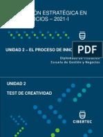 Dinámica - Test de Creatividad - 2021-I