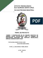 perfil sistemas fotovoltaicos, revision 1