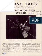 NASA Facts Interplanetary Explorer Satellites