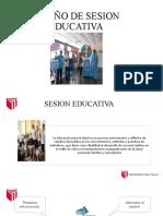 Diseño de Sesion Educativa y Competencias y Capacidades