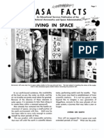 NASA Facts Living in Space
