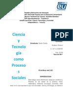 Trabajo ciencia y tecnologia UPTY Aristides Bastidas