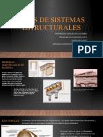 TIPOS DE SISTEMAS ESTRUCTURALES