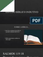 ESTUDO BÍBLICO INDUTIVO LOCAL