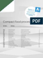 BOSCH MCM4200 Food Processor