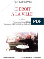 Lefebvre H. Le Droit a La Ville 2009