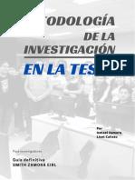 Metodologia de La Investigacion Cientifica Para Tesis 2021 (1)