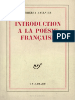 Intro a La Poesie Francaise