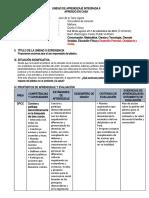 UNIDAD DE APRENDIZAJE 6 - DPCC 5° AeC