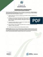 1. Listado de Requisitos Para Presentacion de Minuta de Constitucion de Iglesia Evangelica