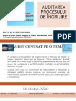 Auditarea Procesului de Îngrijire Cristina Sarbu