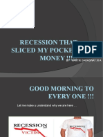 what all did recession ate?