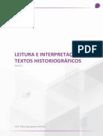 HISTORIOGRÁFIA - aula 1