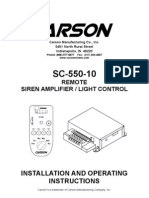 Signal Siren SC-550-10_14_Manual