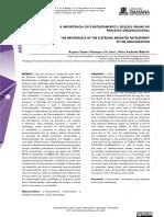 A IMPORTÂNCIA DO E-RECRUTAMENTO E SELEÇÃO ONLINE NO PROCESSO ORGANIZACIONAL