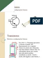 AULA+07+ +Transistores+ +História+e+Configurações+Básicas