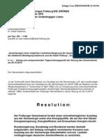 Antrag von Grüne/JF, SPD und UL zu Laufzeitverlängerung von Atomkraftwerken