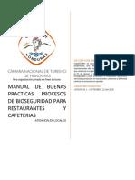 Manual de Buenas Practicas Para Restaurantes y Cafeterias Servicio en Locales v1.1.1