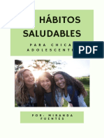 75 Hábitos Saludables para Chicas Adolescentes