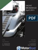 MotorboatBroker inventory catalog - April 2011