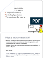 Pgdm 6 the Entrepreneurial Process Start Up Factors