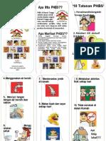 Leaflet Phbs Rumah Tangga