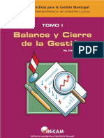 9.- MANUAL PARA BALANCE Y CIERRE DE LA GESTION