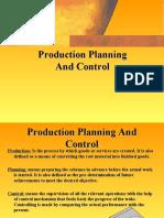 gantt chart for production planning